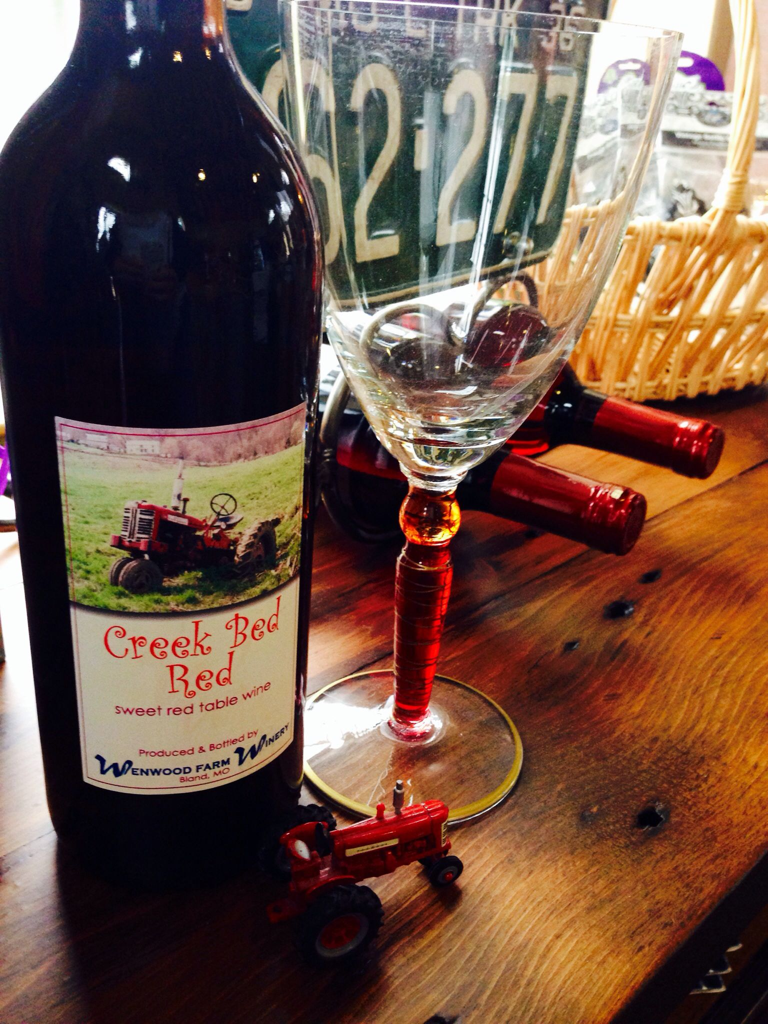 Tractor wine! Sweet red wines, Wine, Red bedding