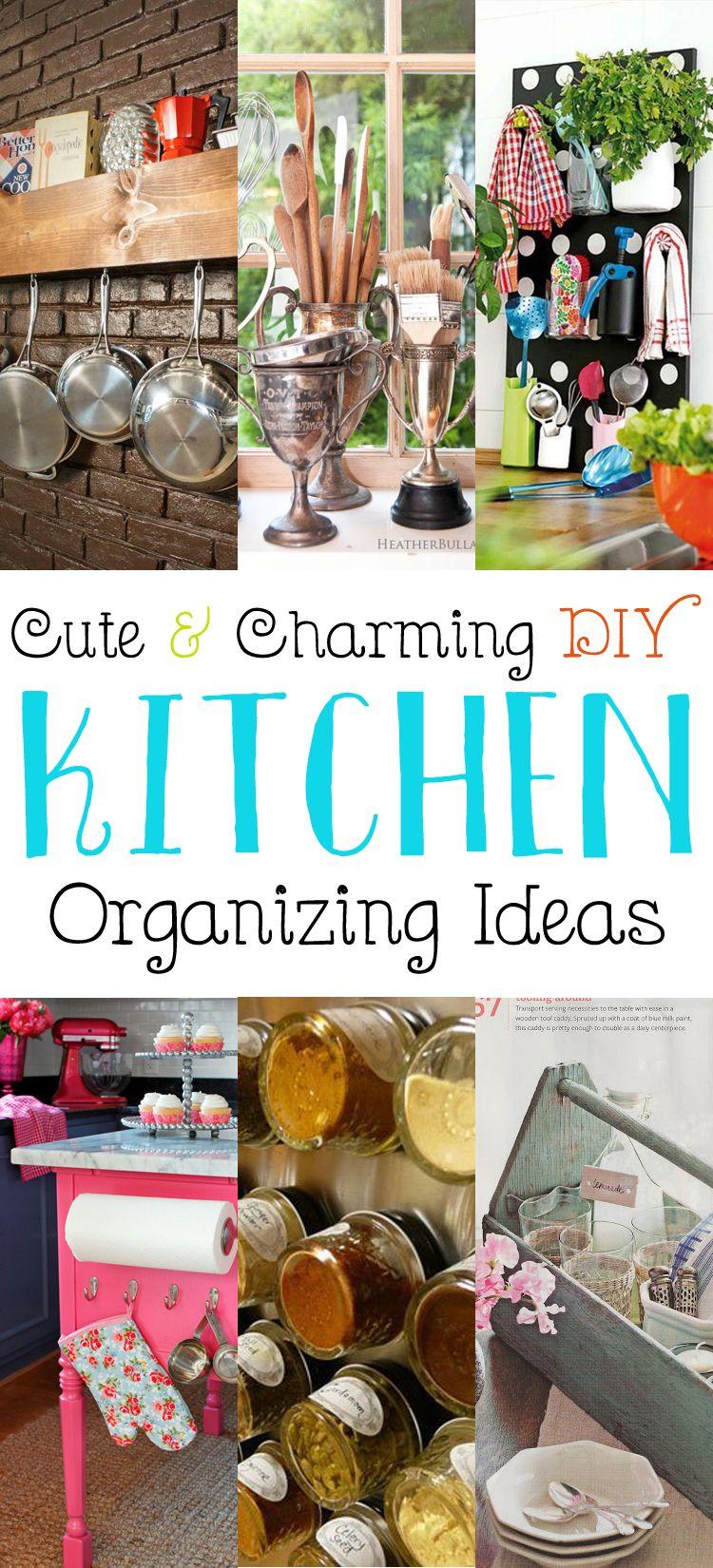 cute and charming diy kitchen organizing ideas best of the cottage market kitchen on kitchen organization diy id=47017