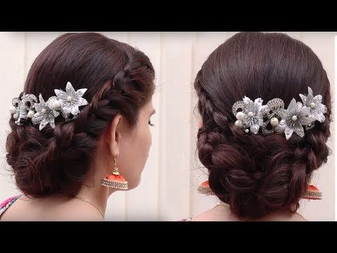 Different Hair Styles For Girls Ladies Hair Style Videos - Hairstyle bun videos