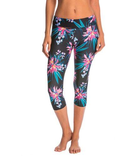 PL Movement Tropical Floral Yoga Capris