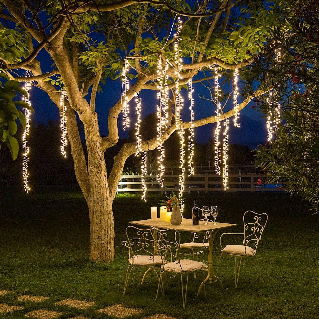NOMA BOSCO Solare Da Giardino Decorativa ARTE LIGHT Up LED Luce Ceppo