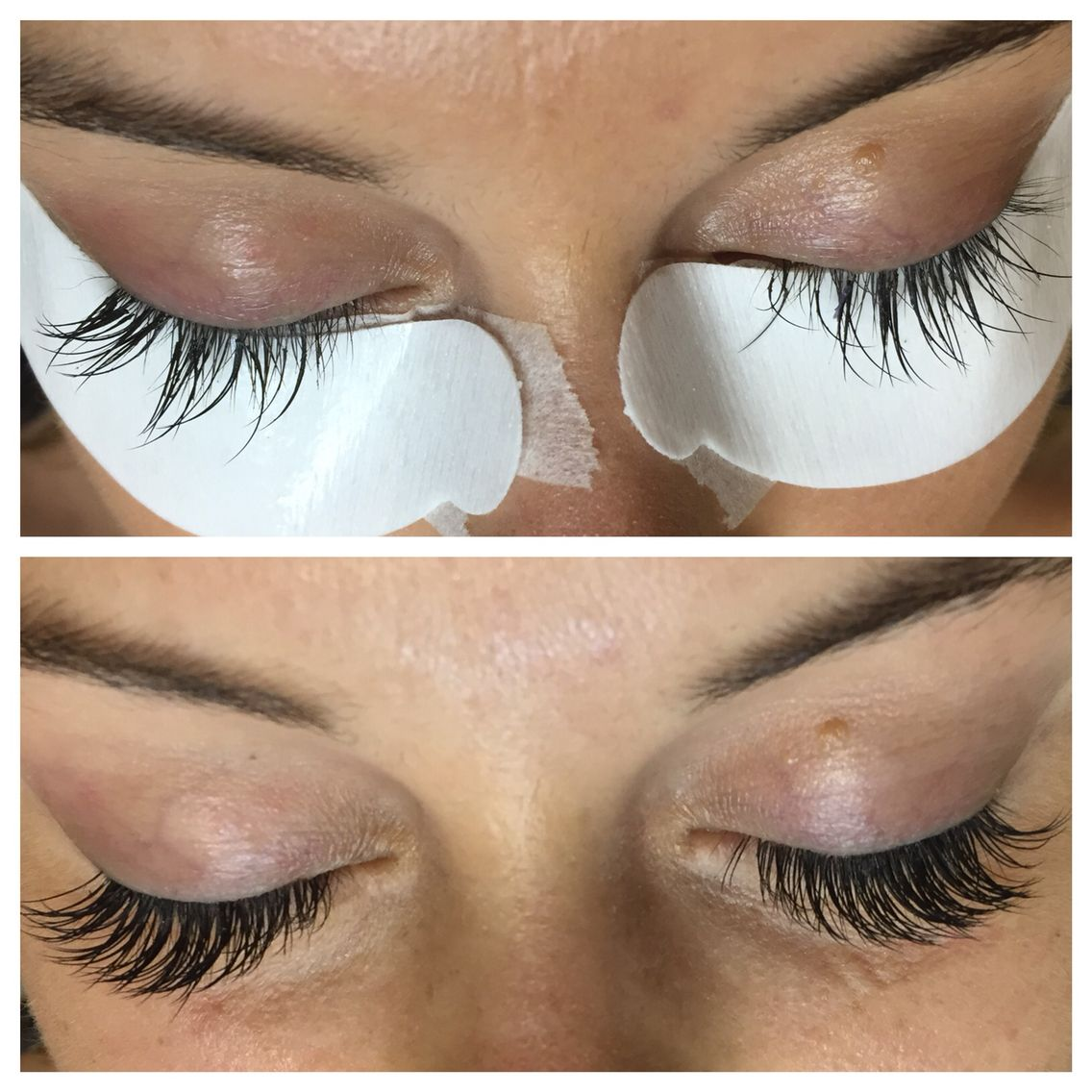 Lash Extension Correction Before And After Got A Bad Fill In Or