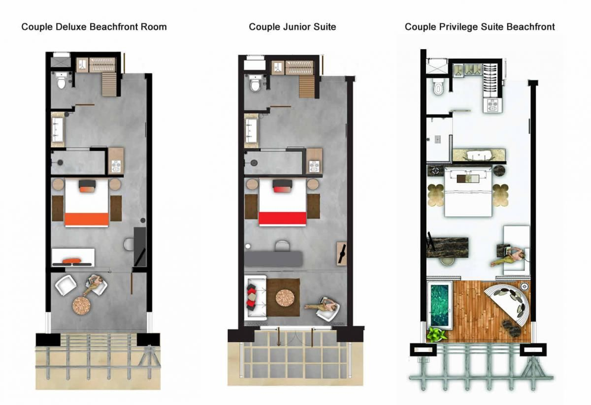 Apartment Room Plan zilwa hotel rooms plans (1200×823) | room_hotel | pinterest