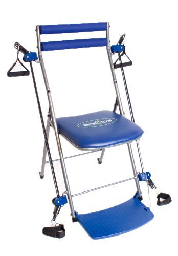 Chair Gym Multi Gym Fitness Chair Full Body Slimming Toning Workout Blue Multi Gym At Home Gym Gym Workouts