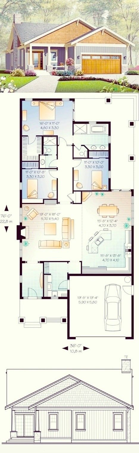 Modern Home Plan Ideas In 2020 House Layout Plans Sims House Plans Modern House Plans
