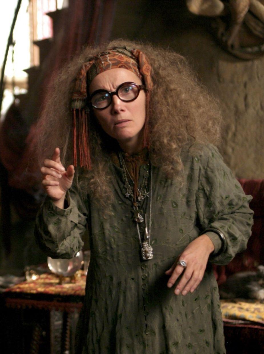 Professor Trelawney Harry Potter And The Prisoner Of Azkaban 2004 Harry Potter Cosplay Harry Potter Professors Hogwarts Professors