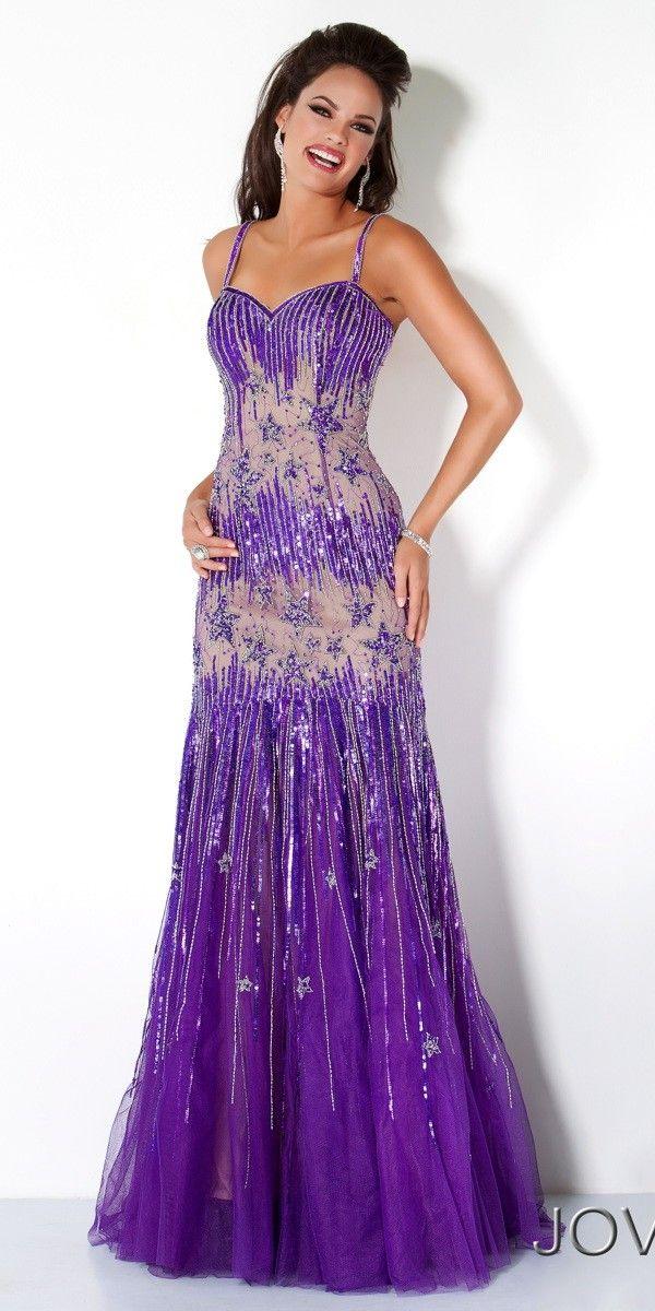 Jovani Beaded Star Dress | Dream closet | Pinterest