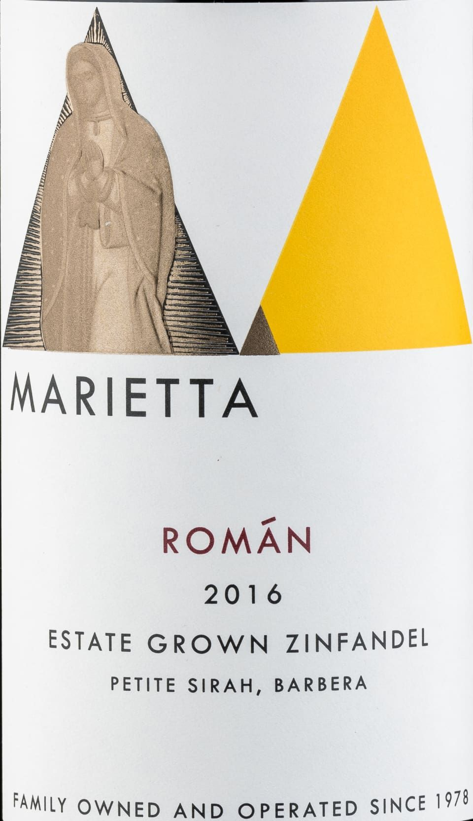 Marietta Roman Estate Zinfandel 2016 Zinfandel Petite Sirah Alcoholic Drinks