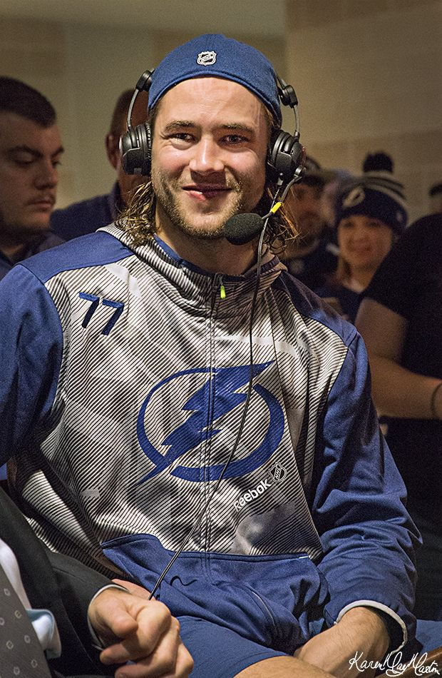 victor hedman post game radio show bolts hockey pinterest