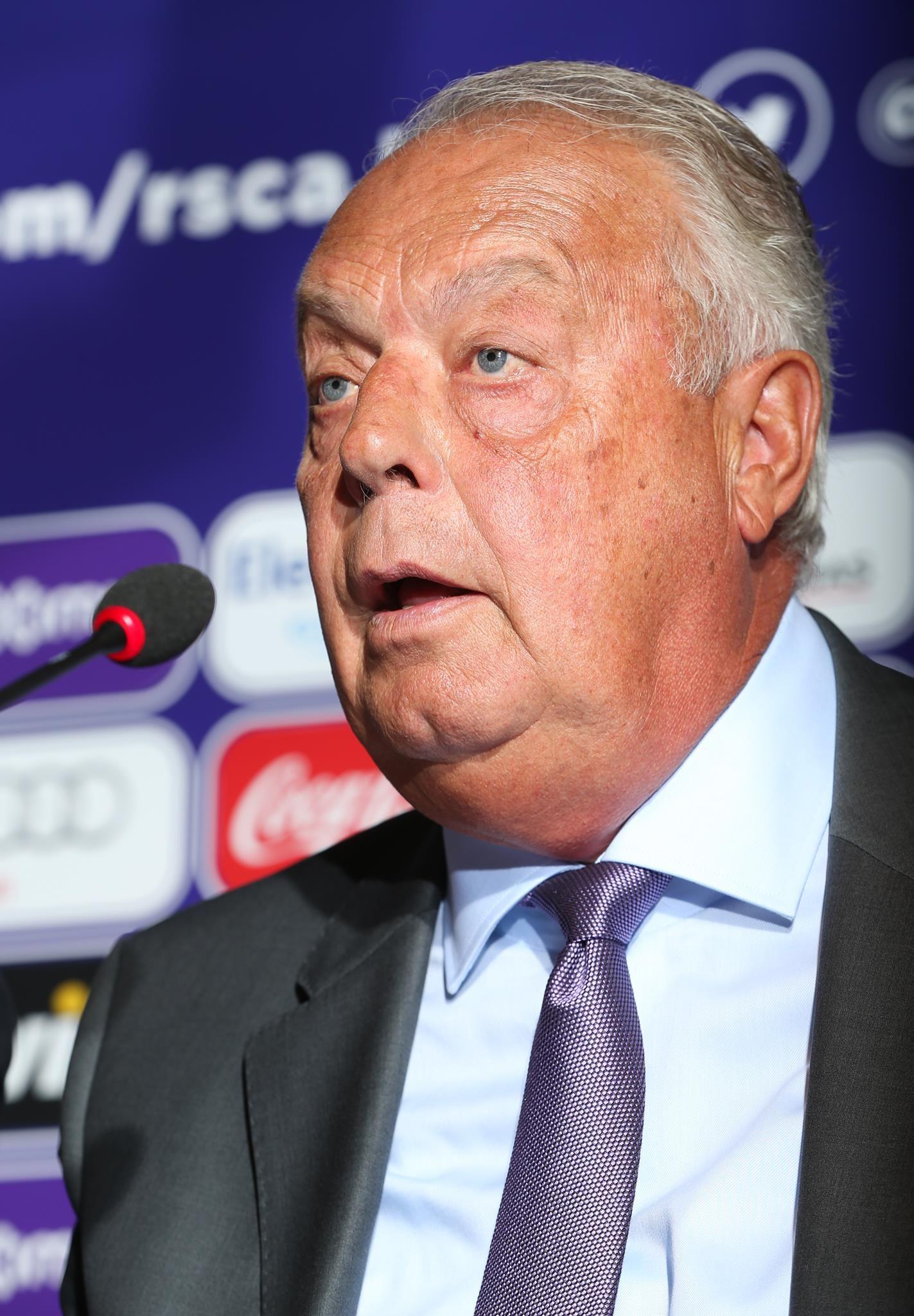 Roger Vanden Stock, voorzitter van Anderlecht.