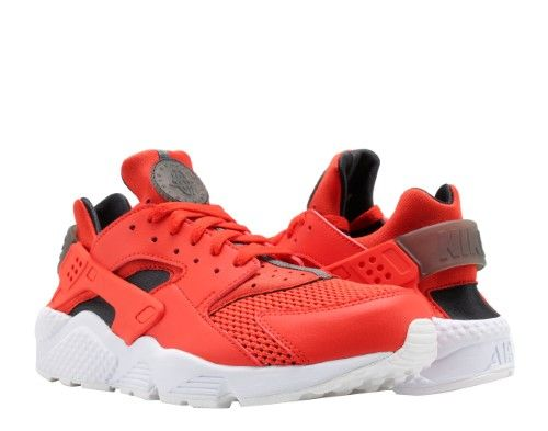 new product 362d8 57dbd Nike Air Huarache Habanero Red Black-White Men s Running Shoes 318429-609,  Size  8.5