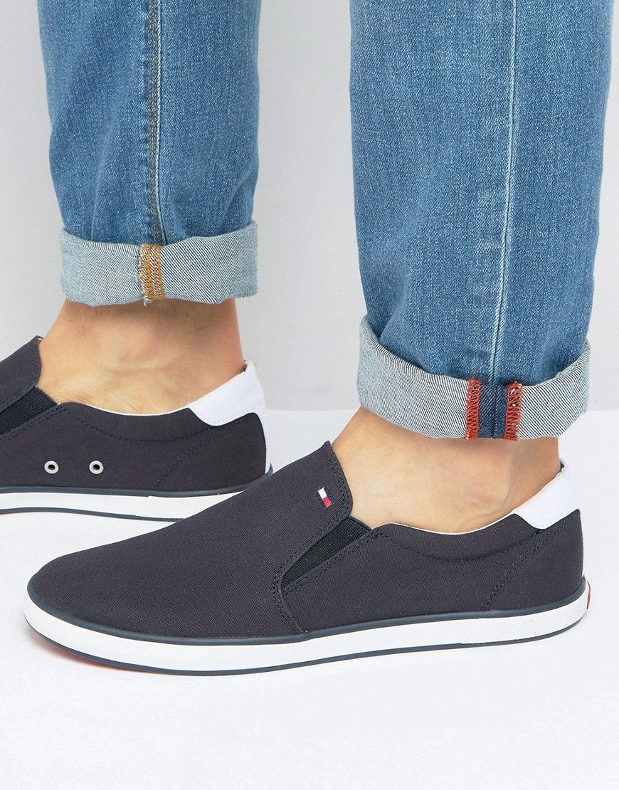 b0fd6f52f89f TOMMY HILFIGER HARLOW SLIP ON SNEAKERS - NAVY.  tommyhilfiger  shoes ...