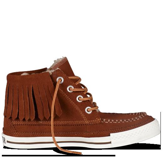 41b198359a5f Converse - Chuck Taylor Fringe Moc Boot - Hi - Monk s Robe