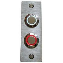 Product Details Solid Stainless Steel Doorbell Cover Plate 3 16 Thick With A Brushed Finish Illuminated