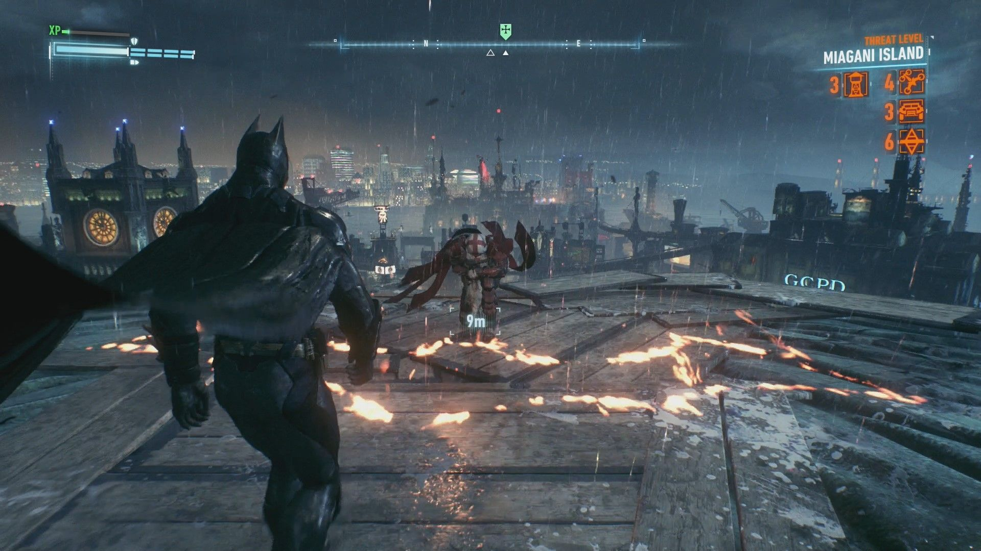 Batman Arkham Knight Heir to the Cowl Most Wanted Combat