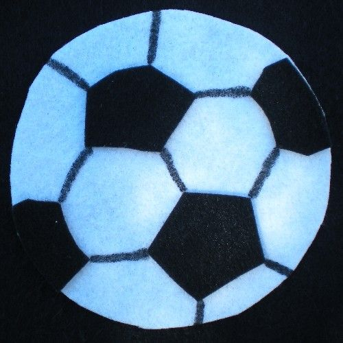 Miscellaneous Topics: Felt Soccer Banner - MISCELLANEOUS TOPICS