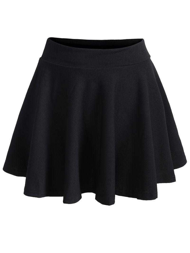 924c65ee4 falda plisada cintura elástica-(Sheinside) | Faldas en 2019 | Faldas ...