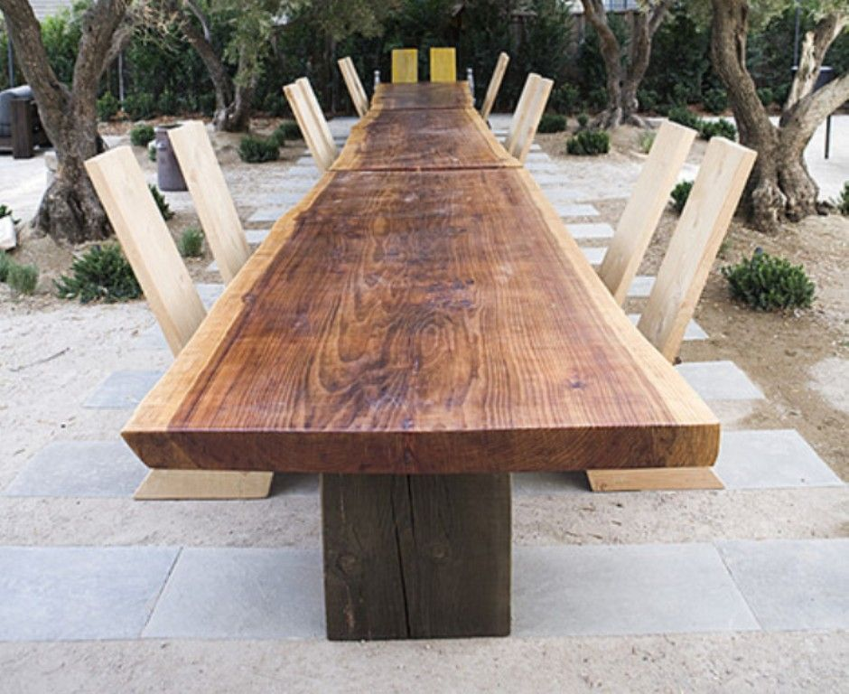 Ron Mann Redwood Table image 5
