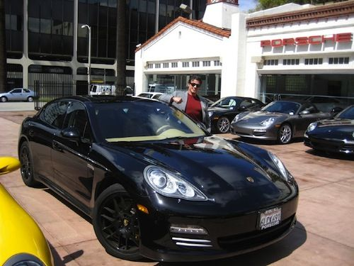 Sylvester Stallone Selling His Porsche Panamera Celebrity Cars