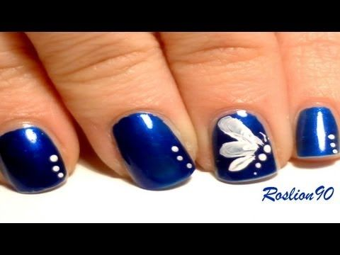 Beautiful And Easy Erfly Nails From Roslion90