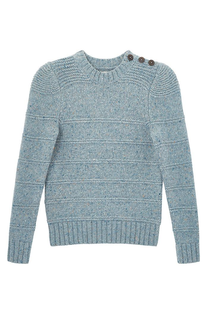 0135c113b7 La Vie Donegal Tweed Ribbed Pullover | Rebecca Taylor | Style File ...