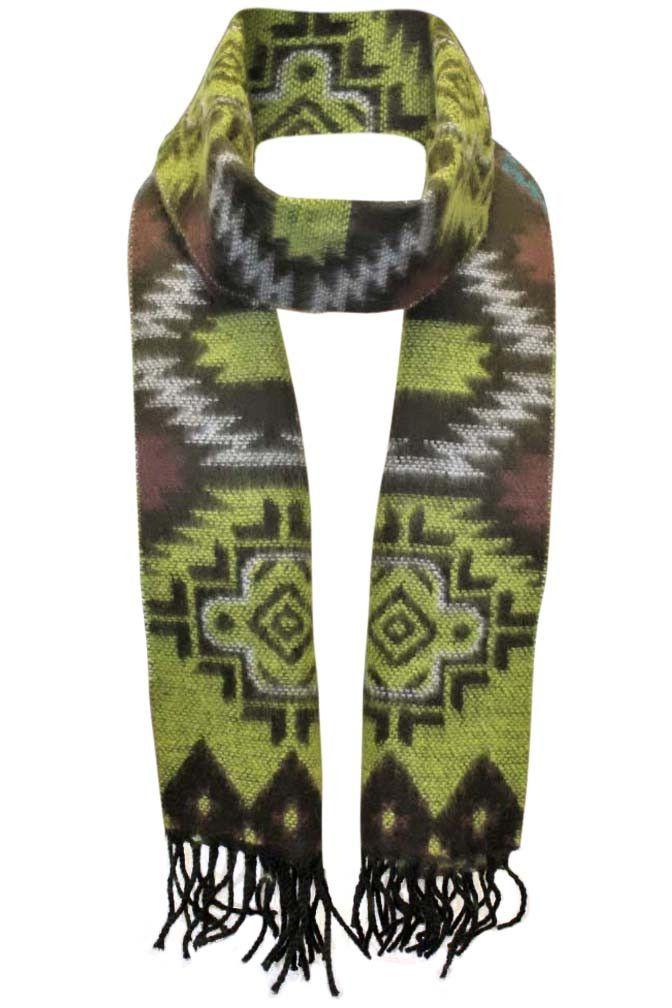 4d863afb57cc Aztec Navajo Print Cashmere Like Scarf Navajo Print