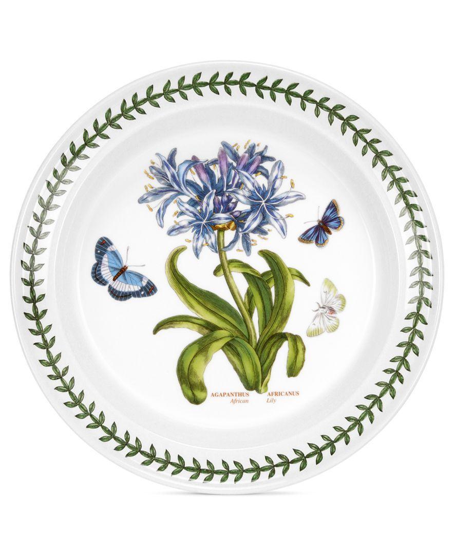 Portmeirion Dinnerware Botanic Garden Dinner Plate Portmeirion