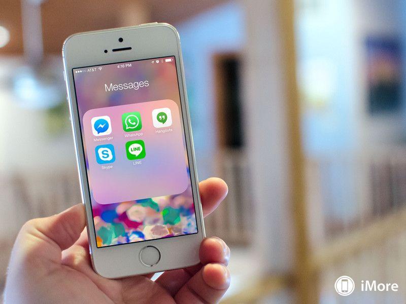 Best messaging apps for iPhone Google Hangouts, LINE