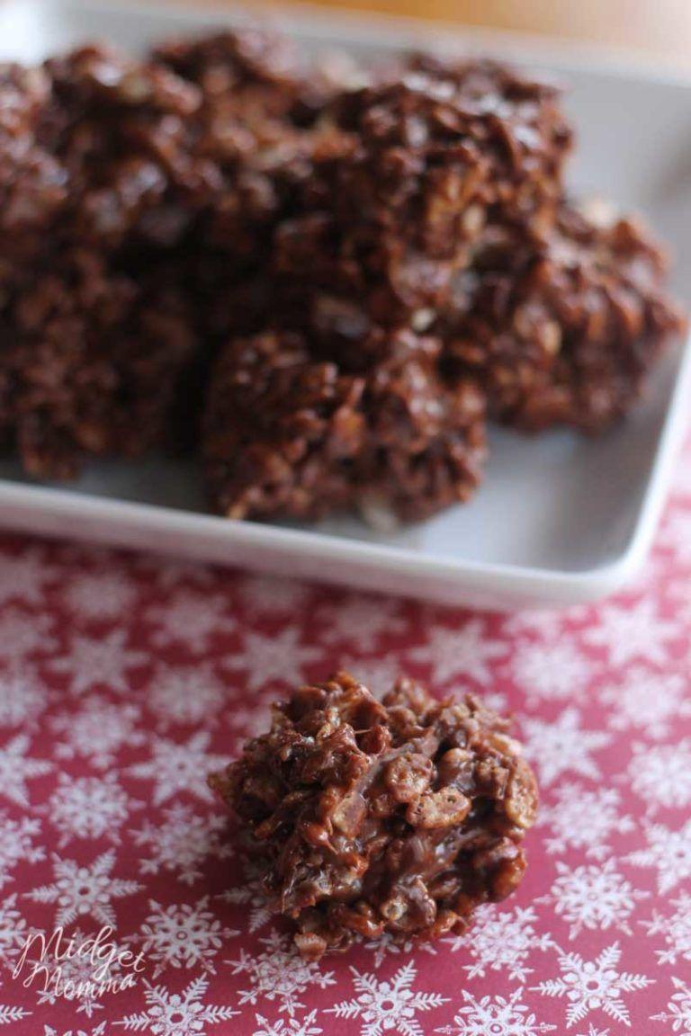 Reindeer Poop Cookies Super Fun Easy To Make Christmas Cookies No