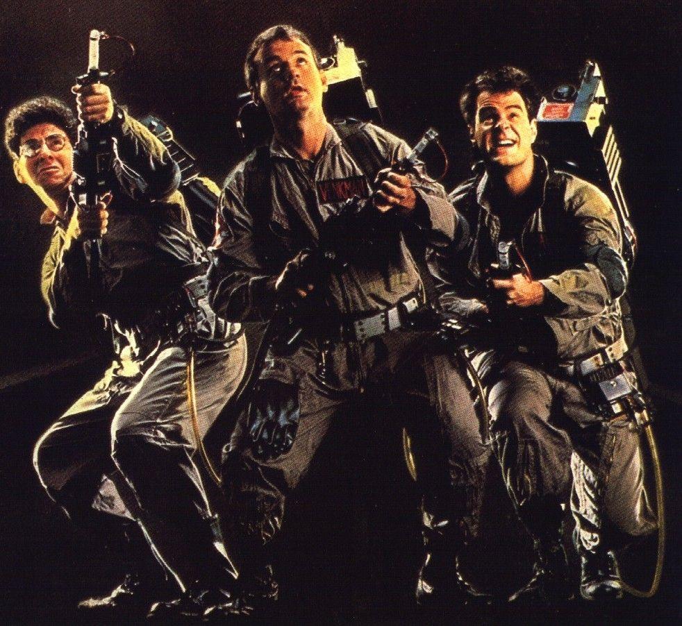 "Harold Ramis, Bill Murray and Dan Aykroyd ~ ""Ghostbusters"" (1984). The best ghost hunting movie EVER.  :)"