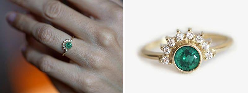ddd18e72fb0 21 anéis de noivado perfeitos para a noiva não tradicional