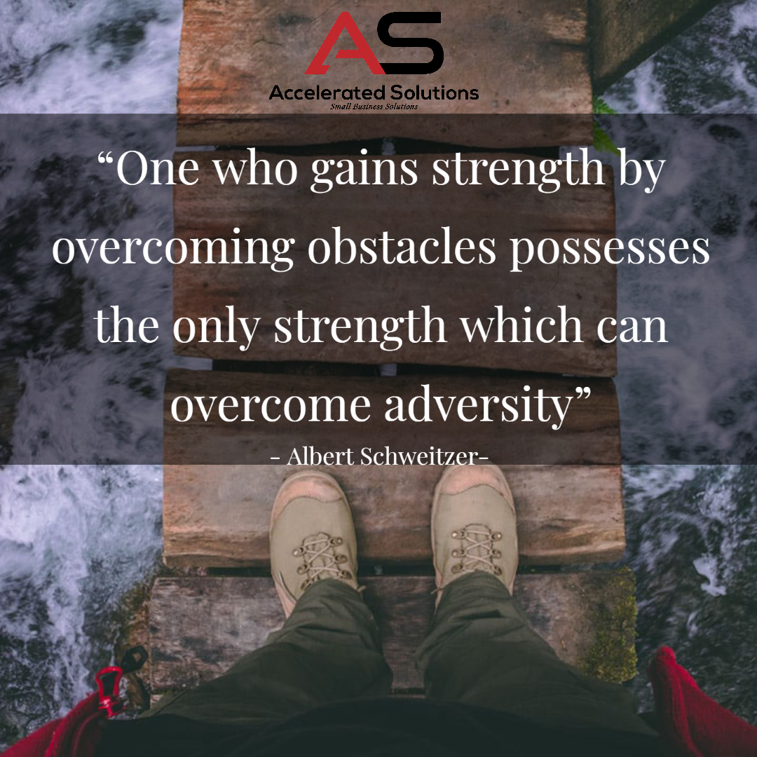 We all have the strength inside of us to overcome any obstacle. We just need to dig deeper sometimes to find it, but it's there.  #OvercomeObstacles #Strength #DigDeep #Adversity