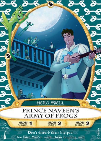 Naveen's Sorcerers of the Magic Kingdom spell card