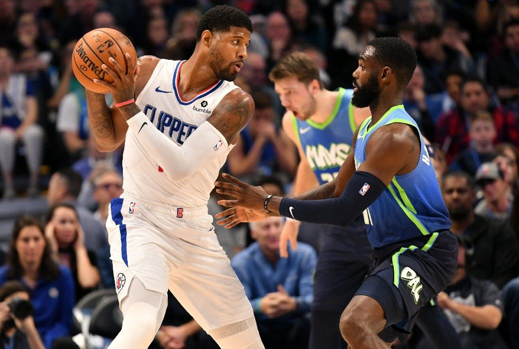Kawhi Pg Lead Clippers To Win Over Mavs