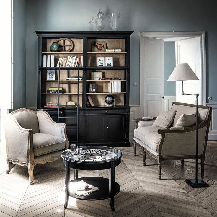 meubles style classique et classique chic maisons du monde salons pinterest maison du. Black Bedroom Furniture Sets. Home Design Ideas