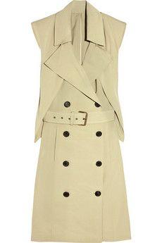 // derek lam trench dress