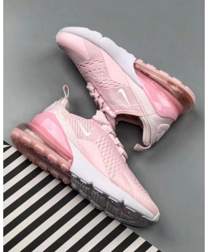 hot sale online 7eeba bc8f3 Air Max 270 Women s Baby Pink White