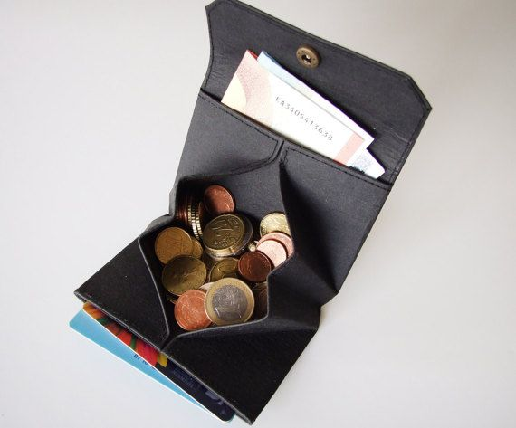 origami coin wallet