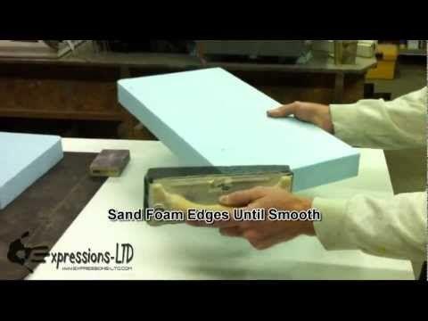 Making A Concrete Countertop Foam Sink Knockout Youtube
