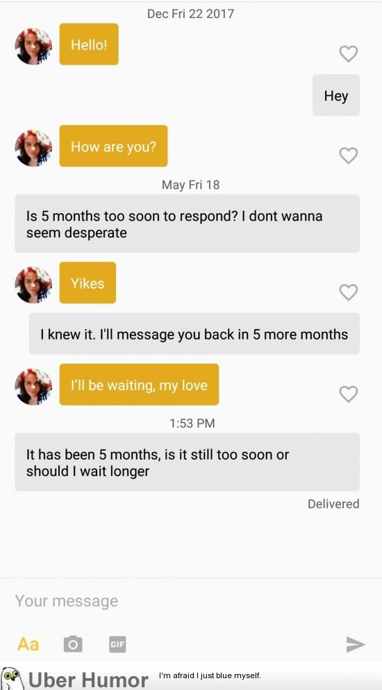 no response to online dating