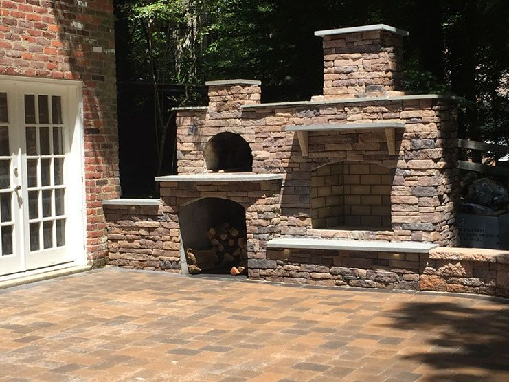 Wood-Fired Outdoor Brick Pizza Oven by BrickWood Outdoors ...
