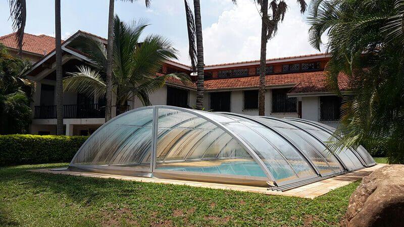 Swimming Pool Enclosure Manufacturer And Supplier With Low Cost With Images Swimming Pool Enclosures Pool Canopy Swimming Pools Inground