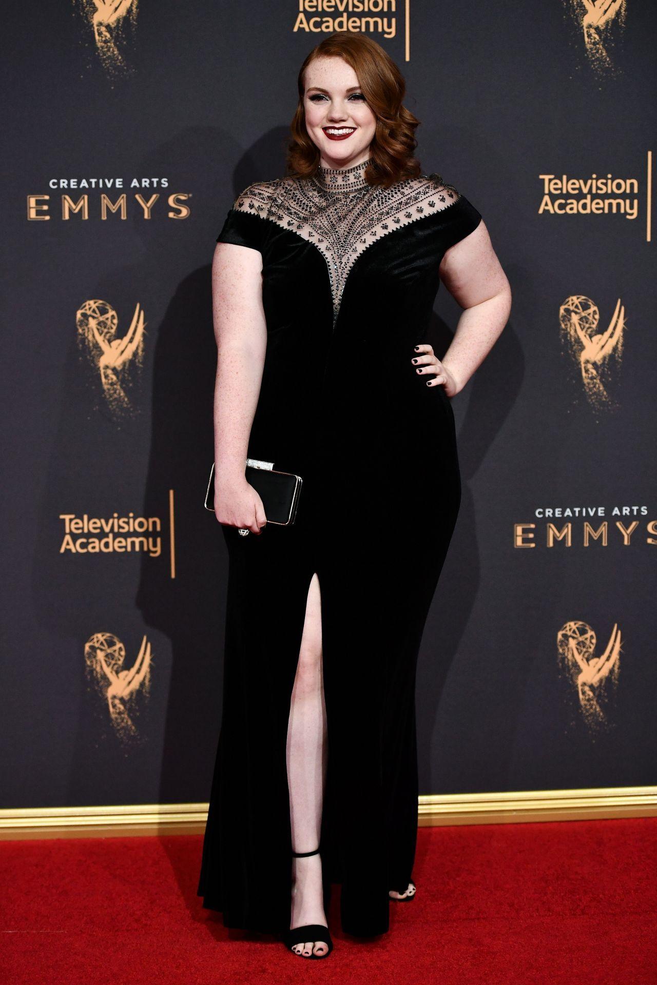 b47e0c0622d Shannon Purser in Tadashi Shoji at the 2017 Creative Arts Emmy Awards  2017   Emmys  Awards  BestDressed