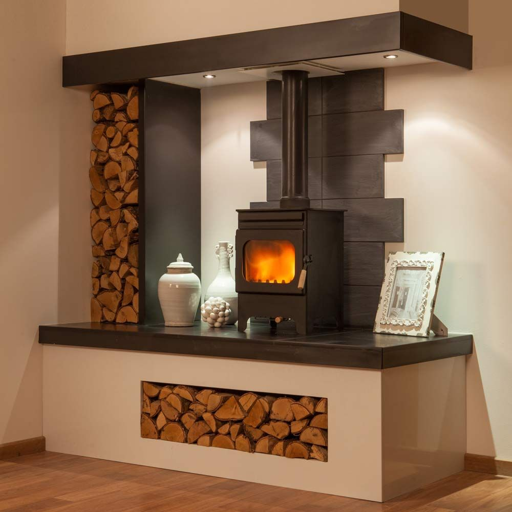Inglenook Ideas For Gas Woodburners