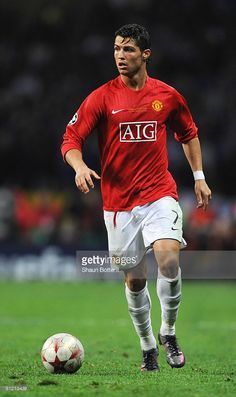 Cristiano Ronaldo of Manchester United in action during the UEFA Champions  League Final match between Manchester 73e5c4abe430d