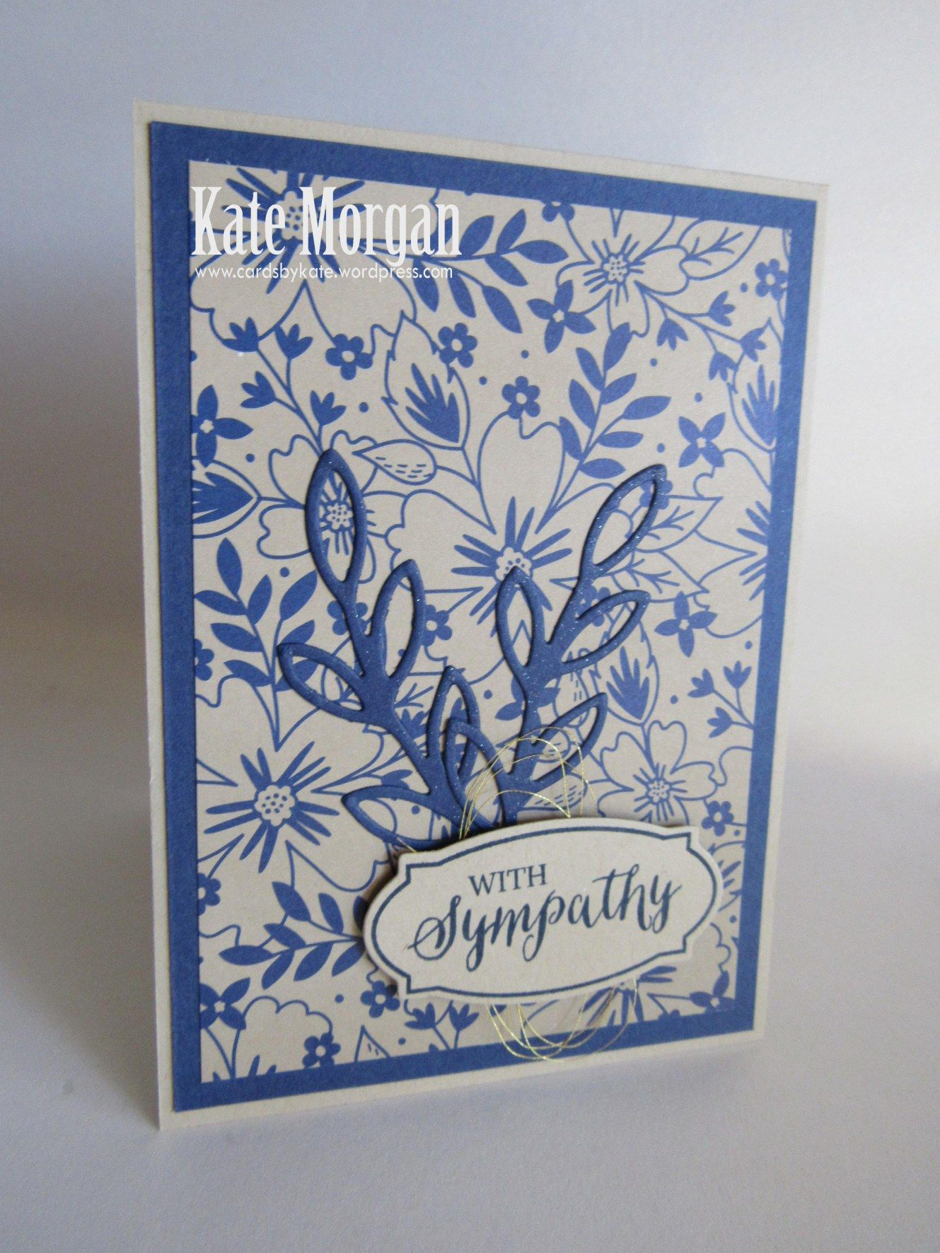 by Kate: Rose Wonder set, Affectionately Yours dsp, Rose Garden Thinlits - all from Stampin' Up!
