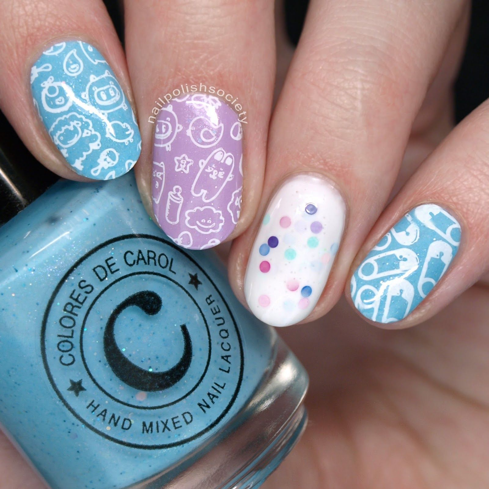 UberChic Little Baby stamping plate | Nails | Pinterest | Stamping ...