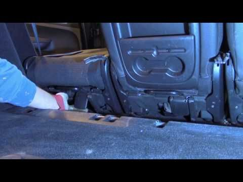 How to remove / install PASSENGER SEAT from Peugeot 307 SW