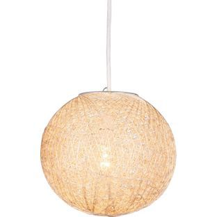 Buy home abaca ball shade natural at argos your online buy home abaca ball shade natural at argos your online aloadofball Images