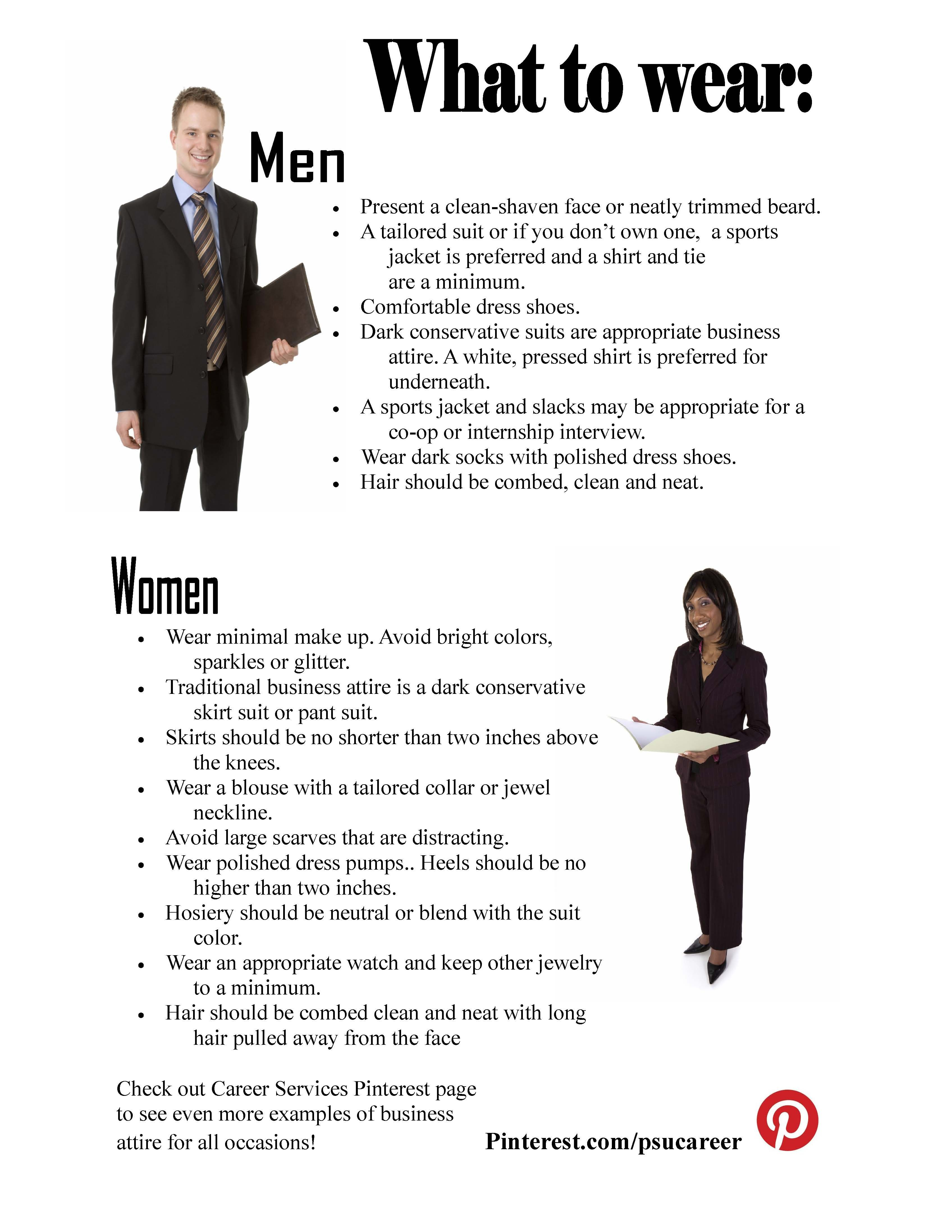 Note At All Spsu Career Fairs We Require Professional Dress This